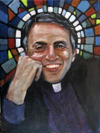 carl_sagan_cosmic_priest_by_jimmydemello-d6bmmel